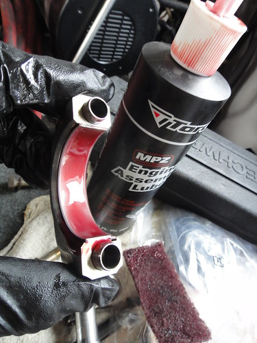 Installing piston/rings into the block | 98luder's Weblog