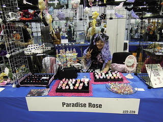 Paradise Rose in Artists' Alley