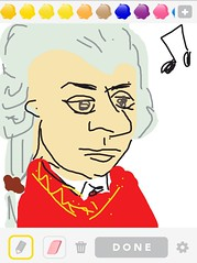 MOZART, Draw Something App