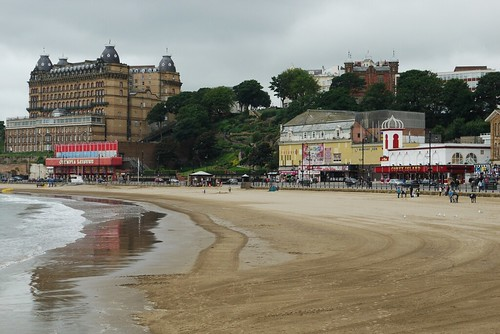 Scarborough Grand Hotel and the Futurist Theatre