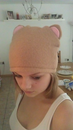 Skye's teddy hat
