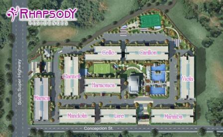 Rhapsody Residences Layout