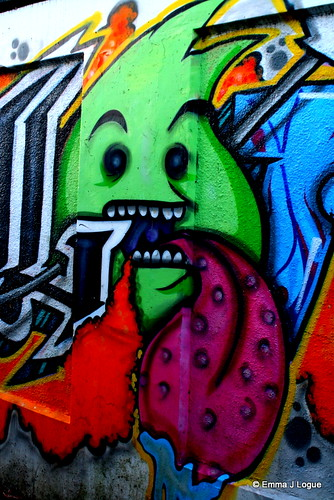 Graffiti Tag - Chesterton Underpass, Cirencester by Emma J Logue