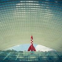 De la BD à la réalité : la Fusée, la Gare et le Musée