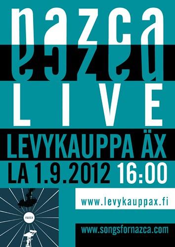 Nazca-Levykauppa Äx by Karstein Volle