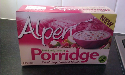 Alpen Raspberry, Apple & Raisin Porridge
