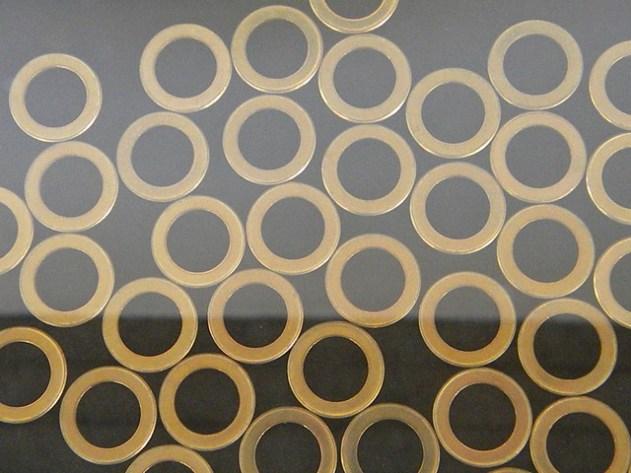 Disco para cunhagem de moedas (1 Real – anel)