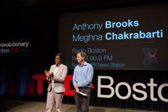 TEDxBoston 2012 - Meghna Chakrabarti, Anthony Brooks