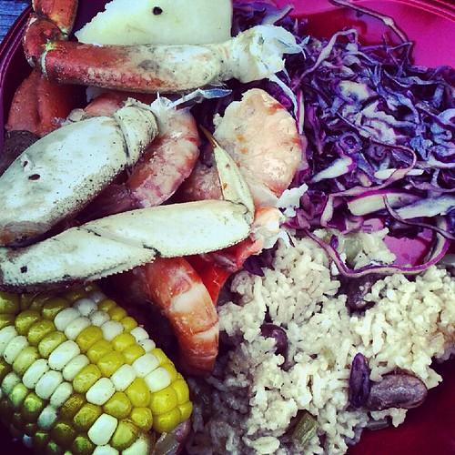 Seafood & fixins
