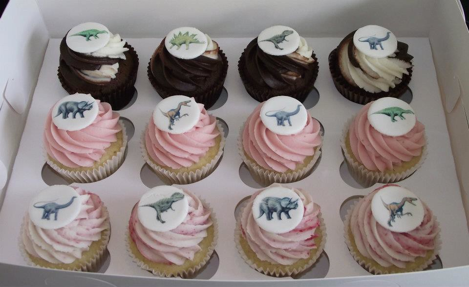 Fun Dinosaur Cupcakes (whether You Can Remember Dinosaur