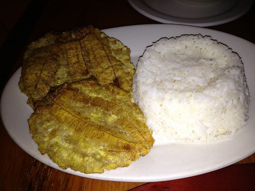 Tostones and Rice
