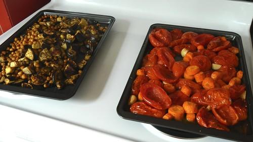 Roasted Tomato and Eggplant Soup