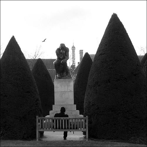 The Thinker ~ Rodin ~ Paris ~ MjYj by MjYj