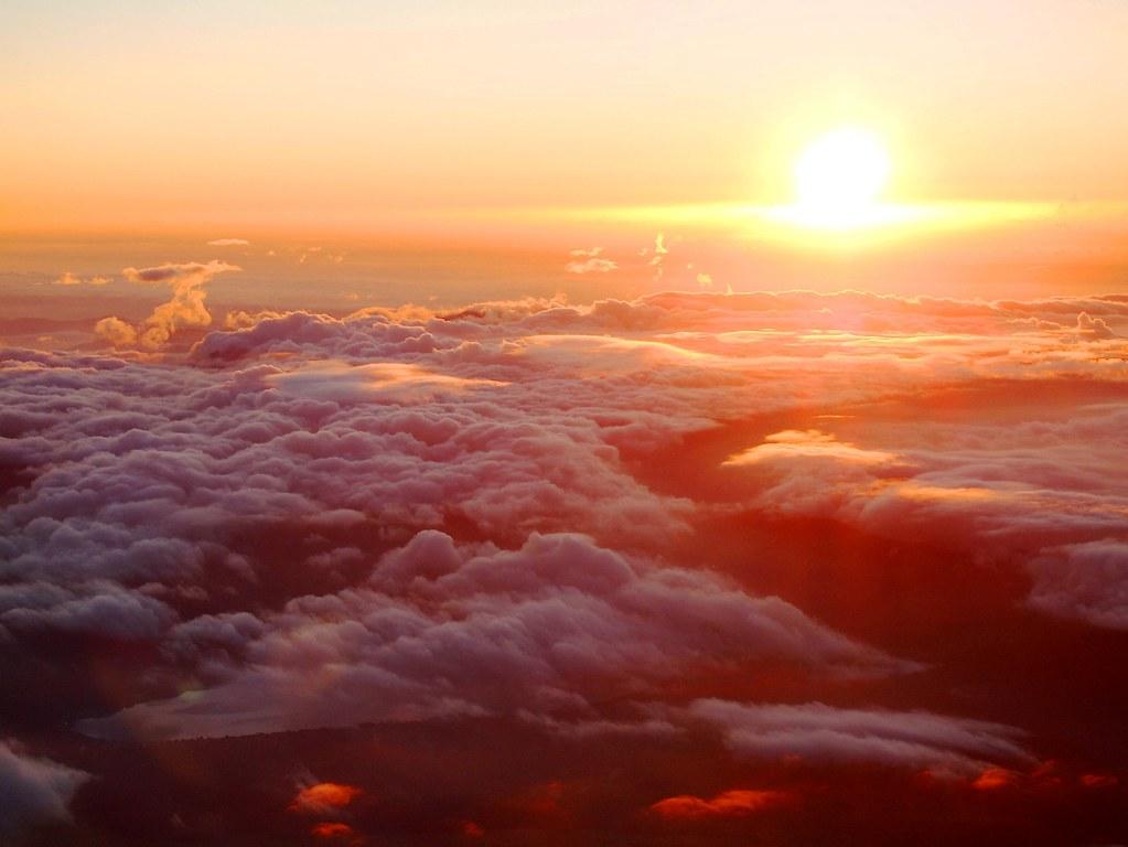 Climbing Mount Fuji: Sunrise