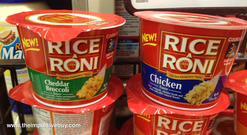 Rice-A-Roni Cups