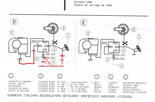 fiamm horn wiring diagram fiamm horn relay pictures images