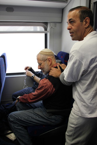 Massage on the train