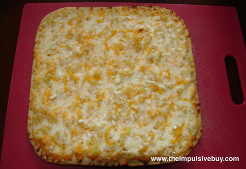 Tony's Original Crust Macaroni & Cheese Pizza Baked