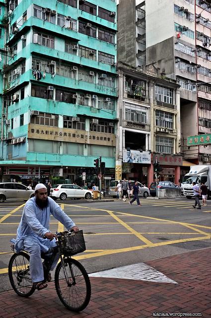 Pakistan man on a bike