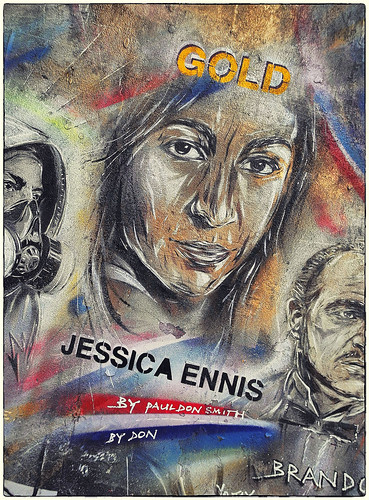 Jessica Ennis by Don