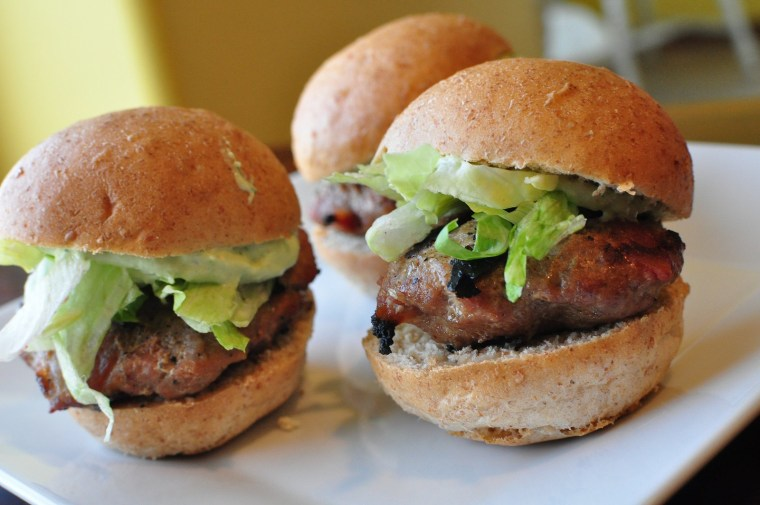 Club Sliders with Avocado Ranch