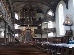 "Speyer, the protestant ""Dreifaltigkeitskirche"" (trinity church), interior"