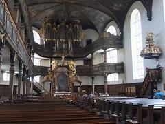 "Speyer, the protestant ""Dreifaltigkeitskirche"" (trinity church), interior"