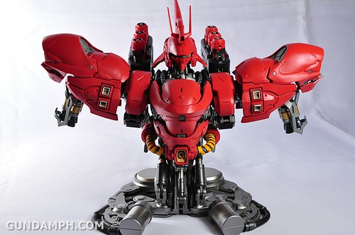 Formania Sazabi Bust Display Figure Unboxing Review Photos (65)