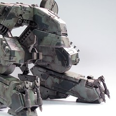 ThreeA Toys MG 1-48 METAL GEAR REX (1)