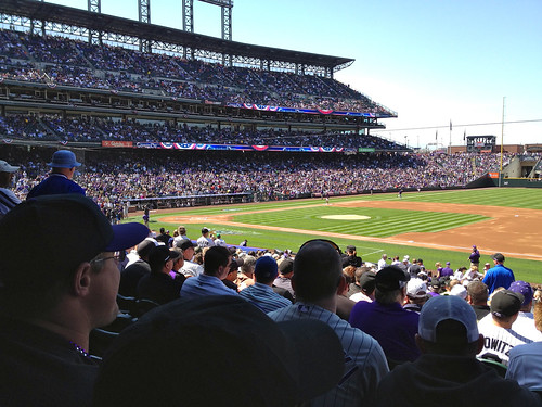 Rockies Home Opener 2012 by bad9brad