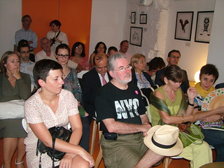 Presentación de 'La mirada del bosque' en Tipos Infames (Madrid)