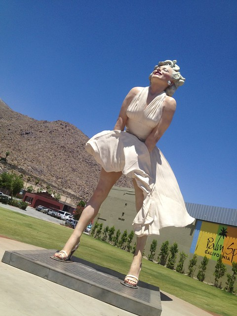 """Forever Marilyn"" sculpture by Seward Johnson"