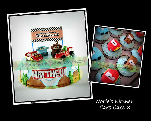 Norie's Kitchen - Cars Cake 8 by Norie's Kitchen