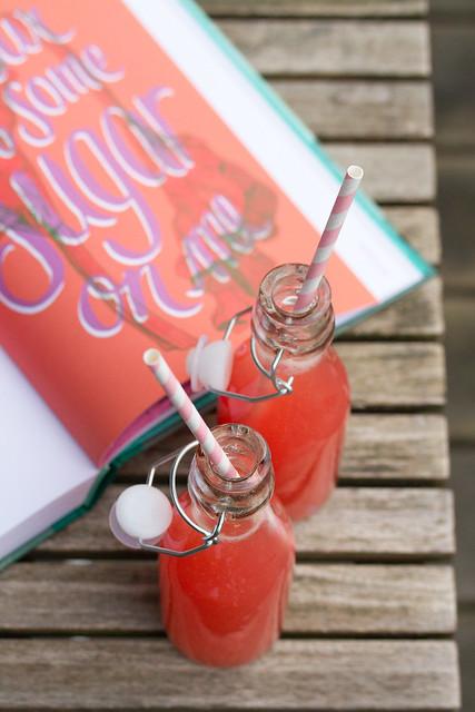 Rhubarb Soda from Batch