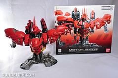 Formania Sazabi Bust Display Figure Unboxing Review Photos (133)