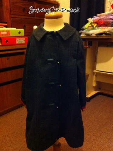 Denim, girls coat - size 4