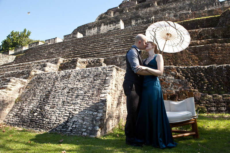 Wedding at Xunantunich