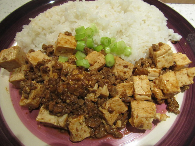 Cooking: Spicy Quorn & Tofu Rice Bowl (Vegetarian Mabo Don)