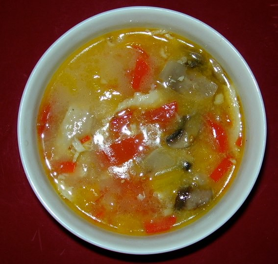 Spicy Chicken Cocoanut Soup