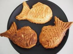 Homemade Taiyaki