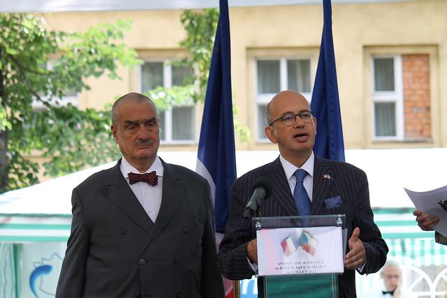 Discours de l'Ambassadeur de France à Prague