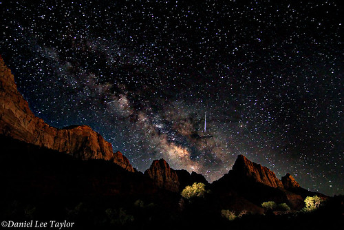 Milky Way Over Zion NP