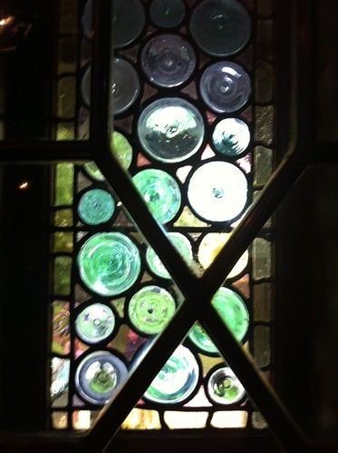 Stained Glass by the front door
