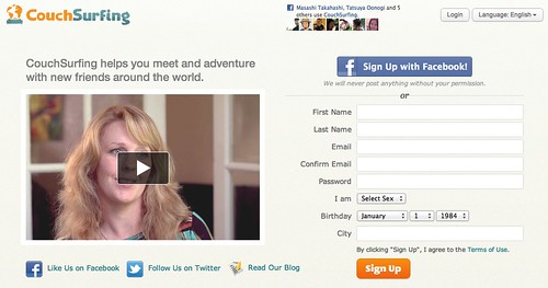 CouchSurfing – The world's largest travel community