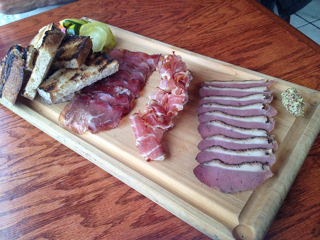House charcuterie - Beast and the Hare
