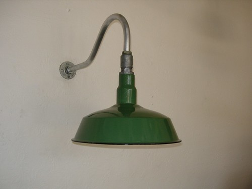 VINTAGE INDUSTRIAL LIGHT MANUFACTURED BY IVANHOE ELECTRIC VISIT VINTAGE BARN LIGHTS by abb_christine