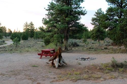 Bryce Canyon Campsite
