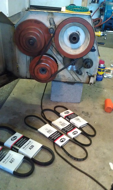 Metal Lathe Belts - Failures