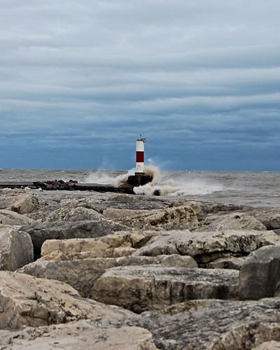 Lake Michigan after Sandy 25
