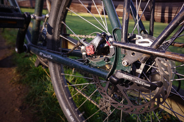 Surly Disc Trucker: Rear Dropout
